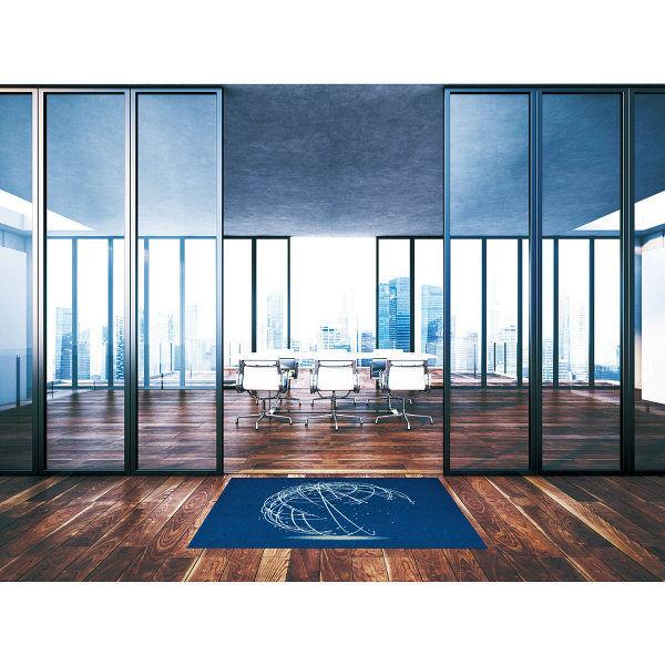 オフィス向けデザインマット グローブ 90 x 180 cm AX00164 クリーンテックス・ジャパン (直送品)