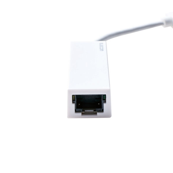 エレコム USB3.0 ギガビットLANアダプター EDC-GUA3-W 1個(直送品)