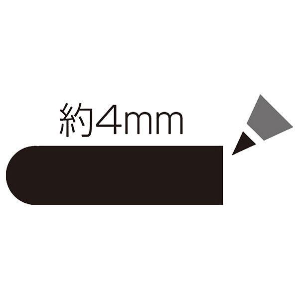 シヤチハタ 油性マーカー丸10 黒 K-7クロ(取寄品)