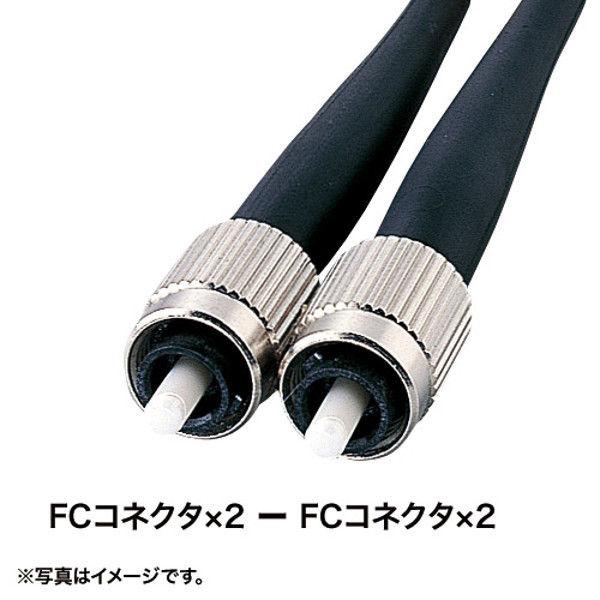 サンワサプライ タクティカル光ファイバケーブル HKB-FCFCTA1-10 1個 (直送品)
