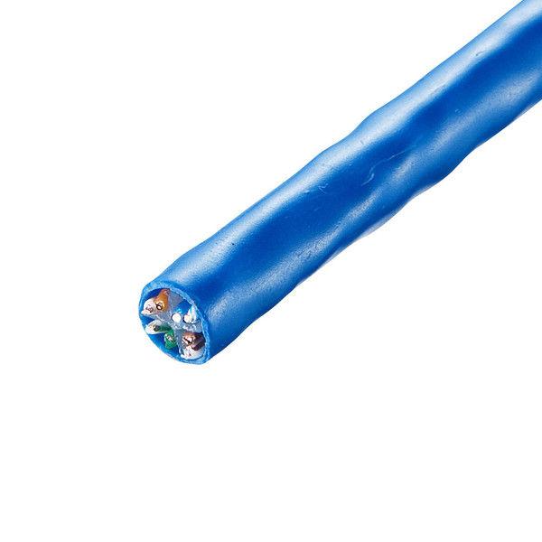 サンワサプライ CAT6UTP単線ケーブルのみ300m KB-C6L-CB300BL 1個 (直送品)