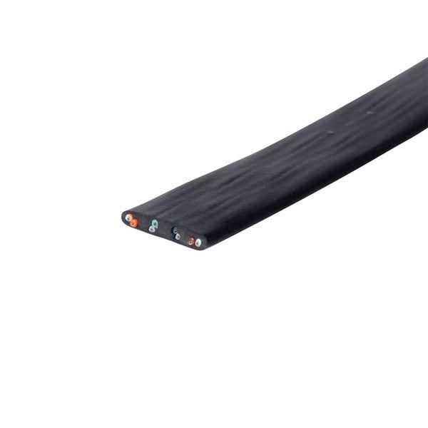 サンワサプライ 超フラットケーブルのみ100m LA-FL5-CB100 1本 (直送品)