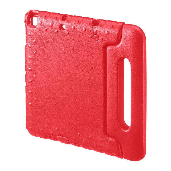 サンワサプライ iPad 9.7インチ 衝撃吸収ケース 赤 PDA-IPAD1005R 1個 (直送品)