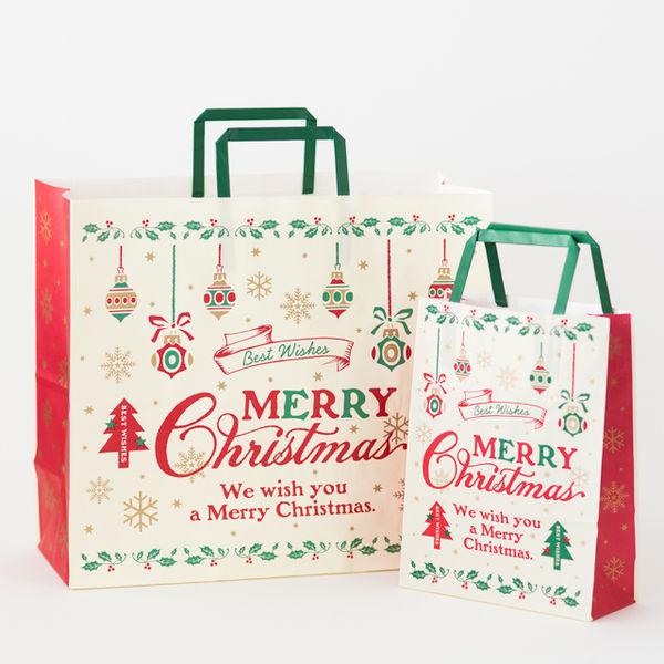 ヘッズ クラシカルクリスマスペーパーバッグ-4 XCL-4P 1ケース(50枚×6パック:300枚)(直送品)