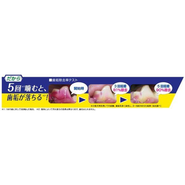 ペットキッス歯みがきガム低カロ小型犬用
