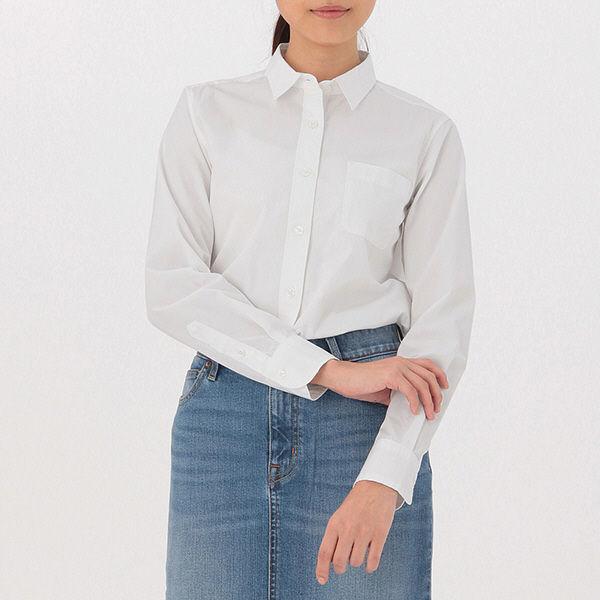 無印 洗いざらしブロードシャツ 婦人 S