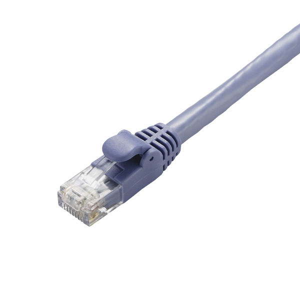 ELECOM LANケーブル/CAT6A/スタンダード/40m/ブルー LD-GPA/BU40 1個 (直送品)