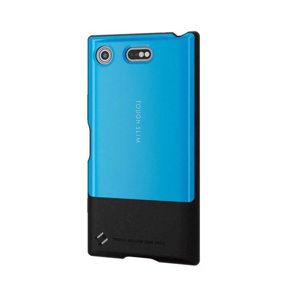 ELECOM Xperia XZ1 Compact/TOUGH SLIM/ブルー PD-SO02KTSBU 1個 (直送品)