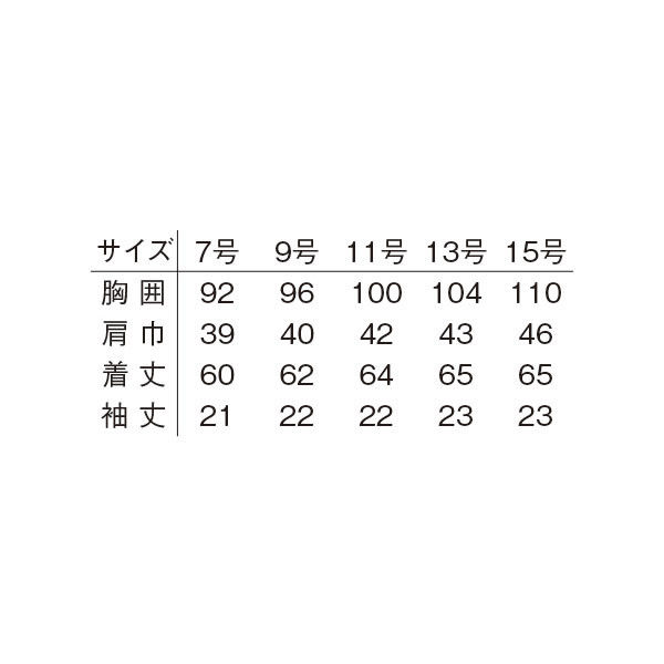 明石スクールユニフォームカンパニー レディース半袖ジャケット ブルーグレー 19 UN1820-61-19 (直送品)