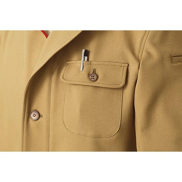 明石スクールユニフォームカンパニー 男女兼用ジャケット グレー M UN5101-4-M (直送品)