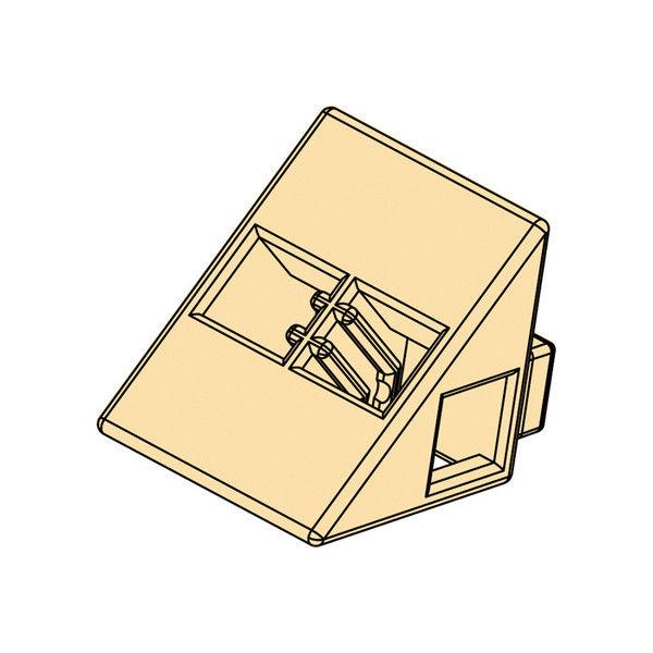 アーテック Artecブロック 三角A 8P ペールオレンジ 77803 5個 (直送品)