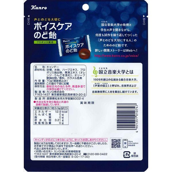 カンロ ボイスケアのど飴/70g 2袋