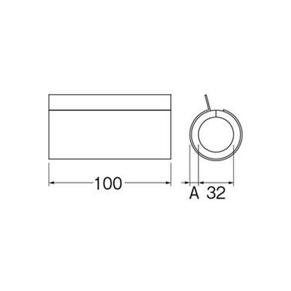 SANEI 継手用保温カバー R5410-4S 1個(直送品)