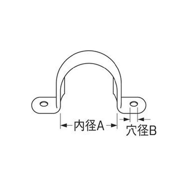 SANEI ステンレスサドルバンド R61-25 1個(直送品)