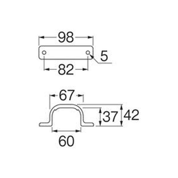 SANEI PCサドルバンド R6500-15A 1個(直送品)