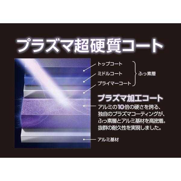 炒め鍋 28cm IH対応 ブラック