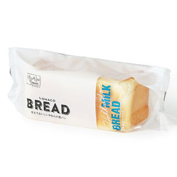 LOHACO BREAD 耳までおいしいやわらか食パン 北海道ミルク仕込み 1個 ロハコブレッド