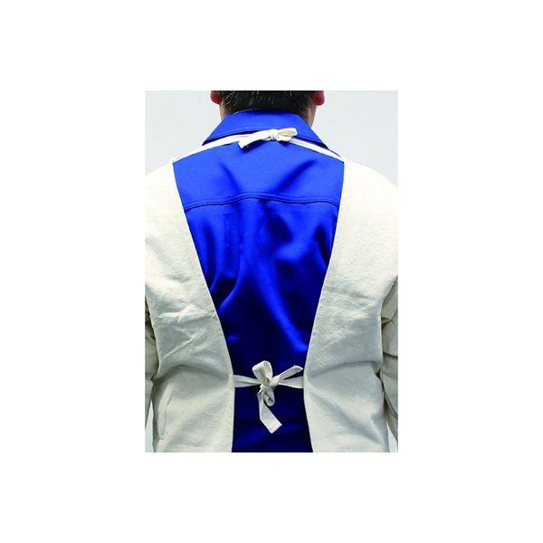 日本光器製作所 帆布 袖付きエプロン 3L 212-0103(直送品)