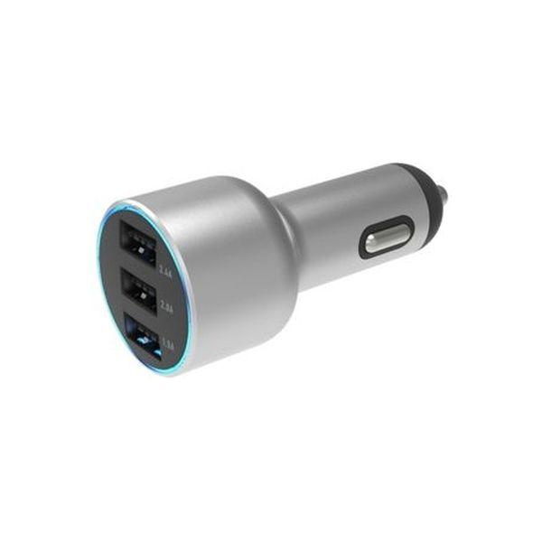 カシムラ DC/USBリバーシブル自動判定3ポート 5.4A メタル AJ-562(取寄品)