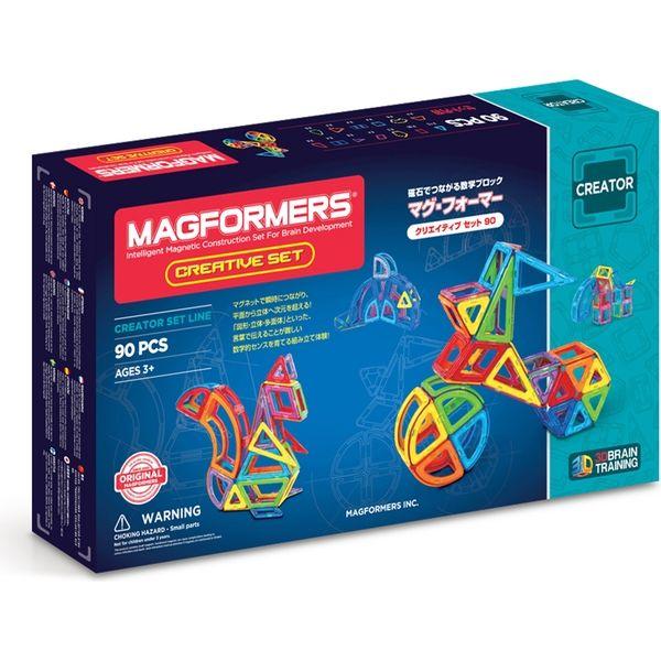 ボーネルンド MF703004Jマグ・フォーマー クリエイティブセット90ピース 4541356031851(直送品)