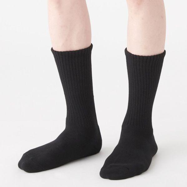 厚手パイル編 太うね 靴下 2足組 紳士