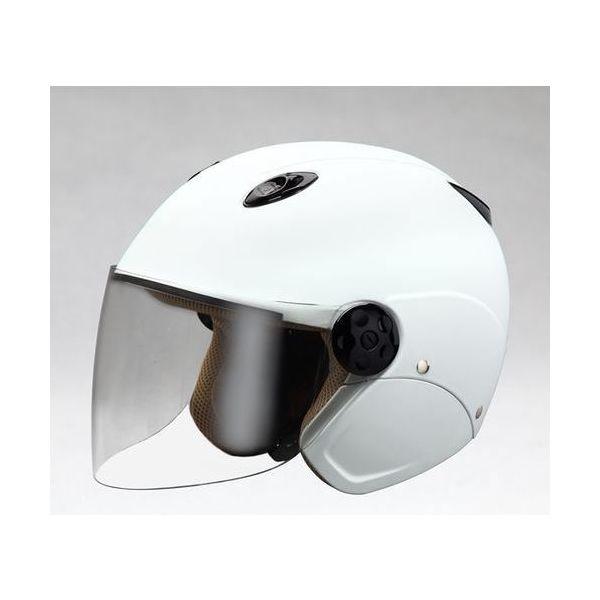 ユニカー工業 MATTED セミジェットヘルメット(マットホワイト)[58~60cm] BH-23W(直送品)
