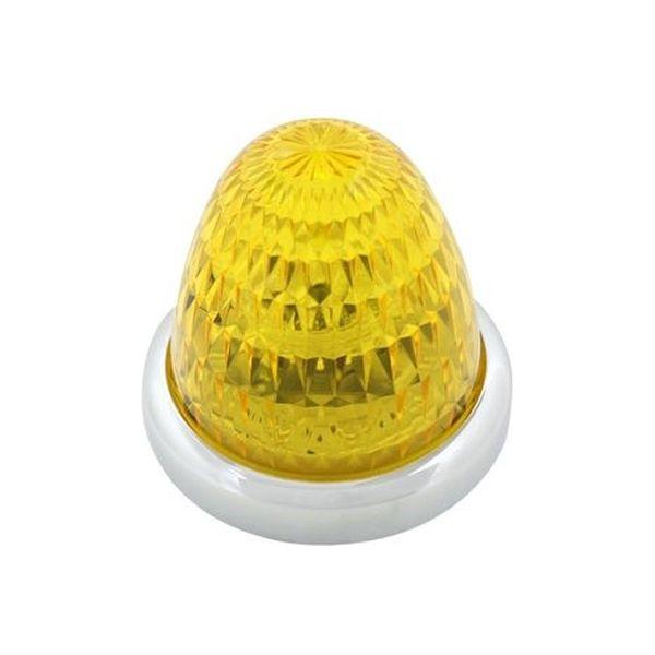 YAC 槌屋ヤック LEDマーカーランプ 彩光流星マーカー イエロー/イエローアンバー(光) CE-131(直送品)