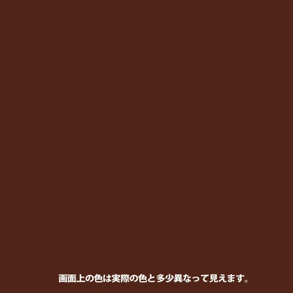 1回塗りハウスペイント 茶色 4L #00027640041040 カンペハピオ(直送品)