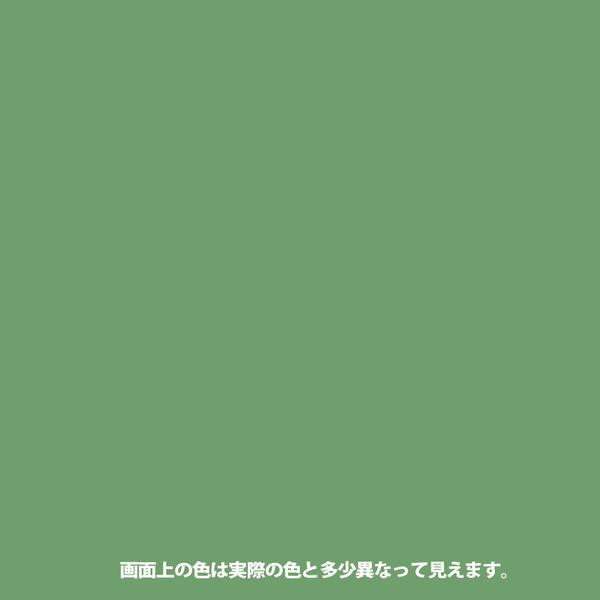 1回塗りハウスペイント わかくさ色 0.1L #00027640451001 カンペハピオ(直送品)