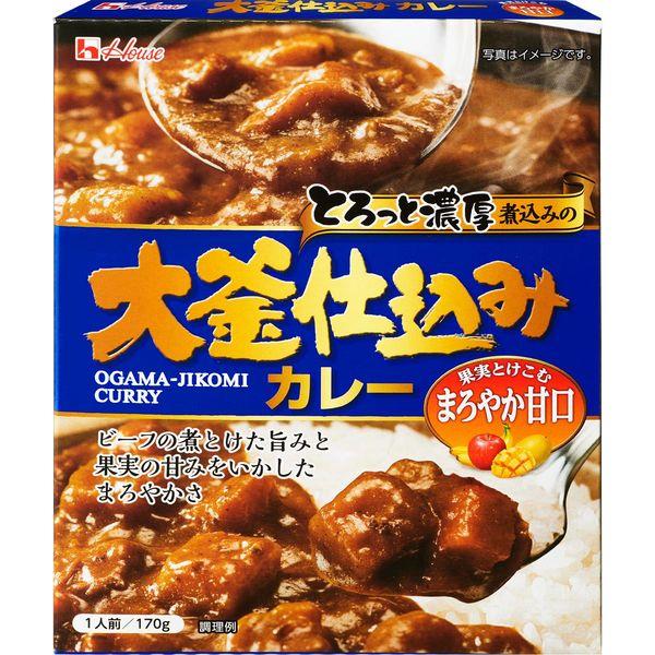 ハウス食品 大釜仕込みカレー甘口6個