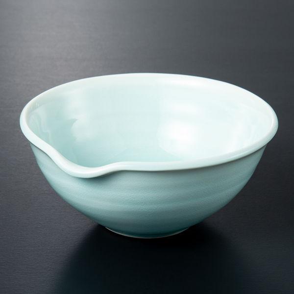 淡青片口ボール(小)1個西海陶器