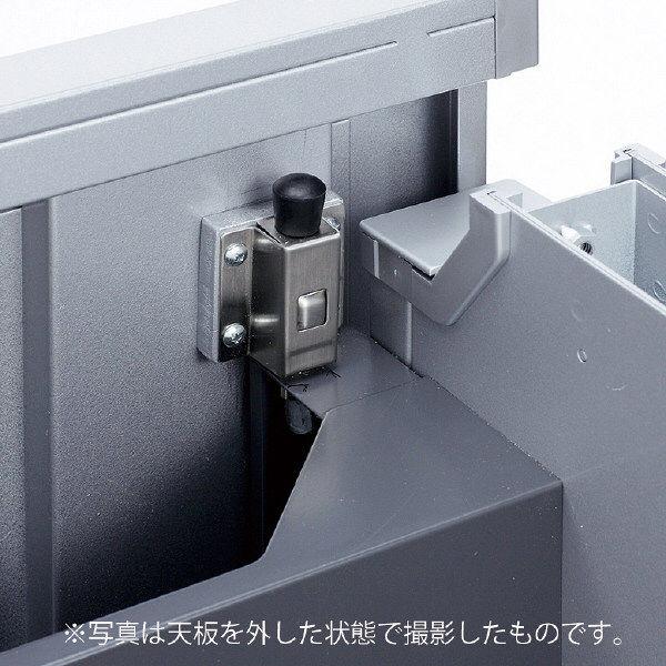 サンワサプライ Aデスク用バックパネルロック ALD-LOCK 2個セット (直送品)