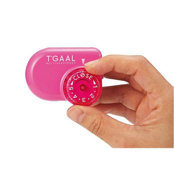 クツワ 鉛筆削り トガール(ピンク) RS017PK 5個 (直送品)