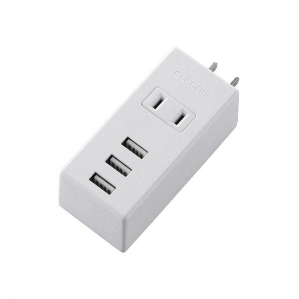 エレコム USB付きモバイル電源タップ