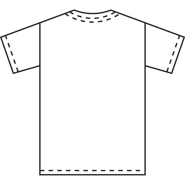 KAZEN スクラブ(男女兼用) 133ー83 ターコイズブルー L 医療白衣 1枚(直送品)