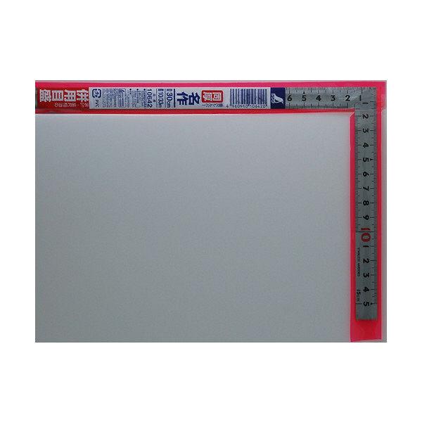 シンワ測定 曲尺同厚 シルバー 併用目盛 名作 1尺/呼寸 32cm 10642 1本 (取寄品)