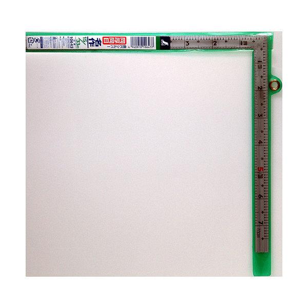 シンワ測定 曲尺同厚 シルバー 表裏同目 名作 1尺6寸/48.5cm 10643 1本 (取寄品)