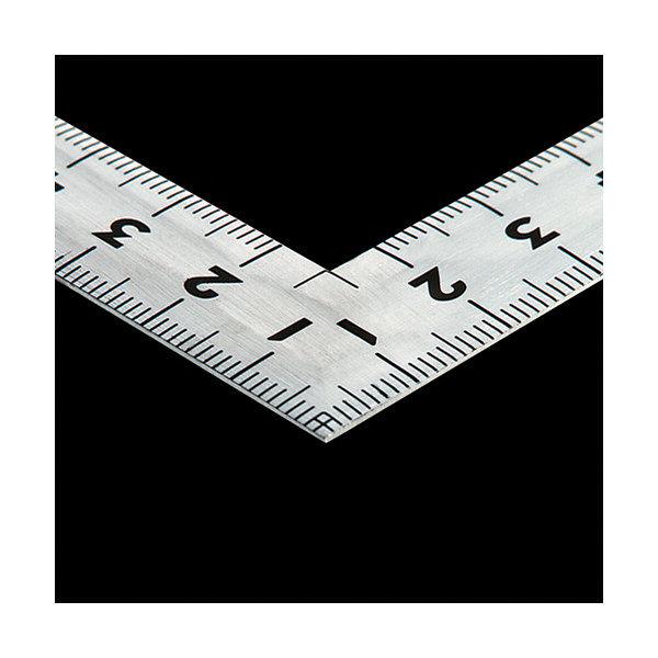 シンワ測定 曲尺同厚 シルバー 裏目盛(角目・丸目) 名作 JIS 呼寸 32cm 10652 1本 (取寄品)