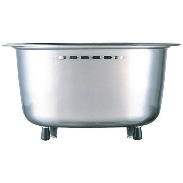 脚付ステンレス洗い桶(中栓付き)
