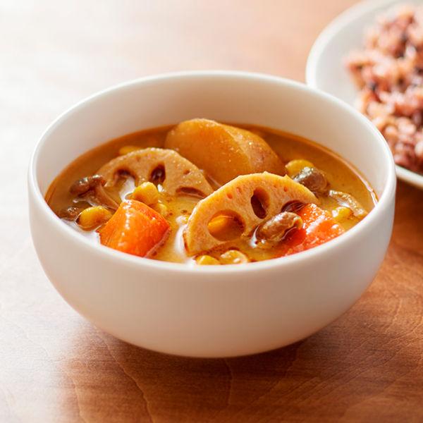 根菜のスパイシースープカレー