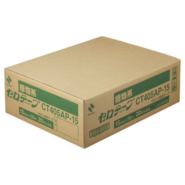 ニチバン セロテープ 15mm×35m 200巻 CT405AP-15X20 (直送品)