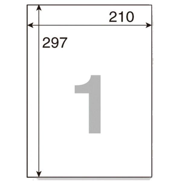 プラス いつもの下地が透けないラベル全面 ME-500SKT (直送品)