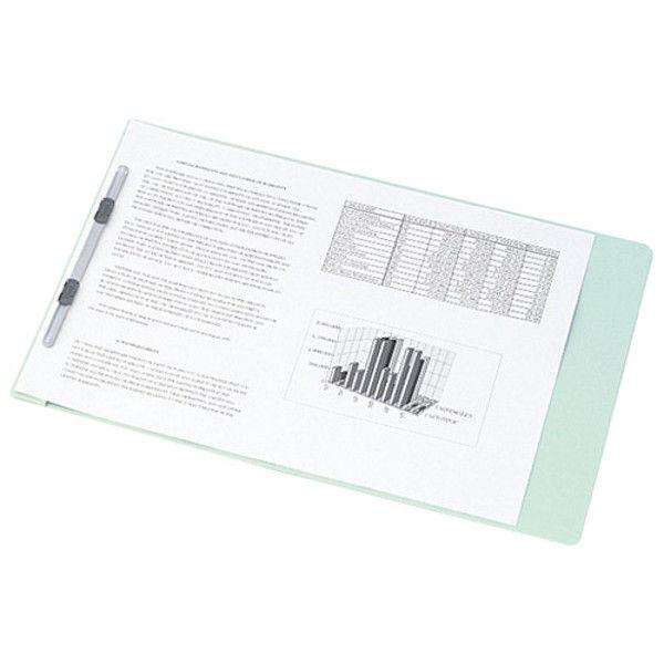 プラス フラットファイル2折 A4S 青 10冊 NO.025F BL 1セット (直送品)