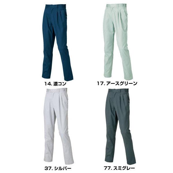 寅壱 シャーリングスラックス シルバー LL 1291-702-37-LL (取寄品)