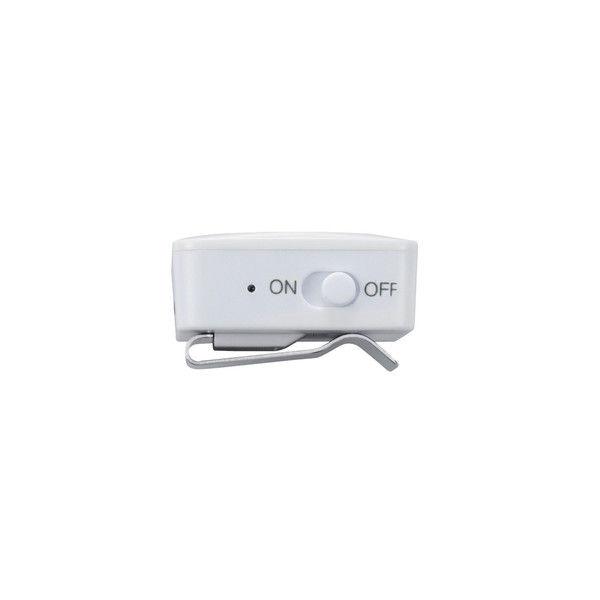 エレコム Bluetoothオーディオレシーバー(イヤホン付)/カジュアル/オーディオ/ホワイト LBT-PHP01AVWH 1個 (直送品)