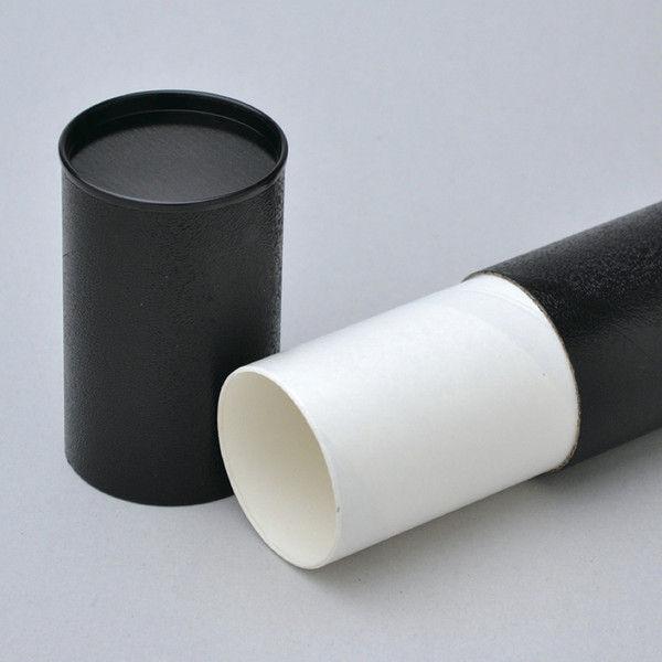 ササガワ 丸筒 黒 360 10-1981 10本(1本×10本箱入) (取寄品)