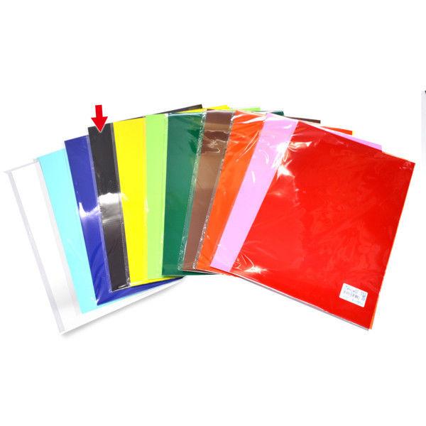 ササガワ 艶紙 黒 31-109 100枚(10枚袋入×10冊袋入) (取寄品)