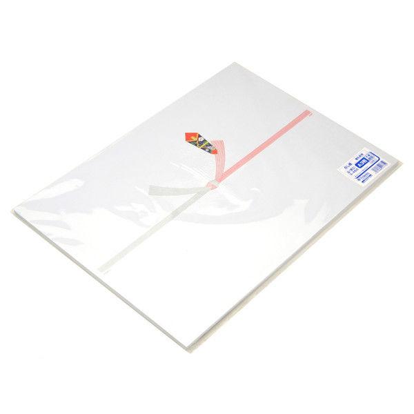 ササガワ タカ印 のし紙 A3判 十本結切 山 3-460 500枚(100枚袋入×5冊包) (取寄品)