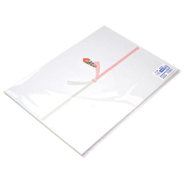 ササガワ タカ印 のし紙 中杉判 十本結切 山 3-462 500枚(100枚袋入×5冊包) (取寄品)