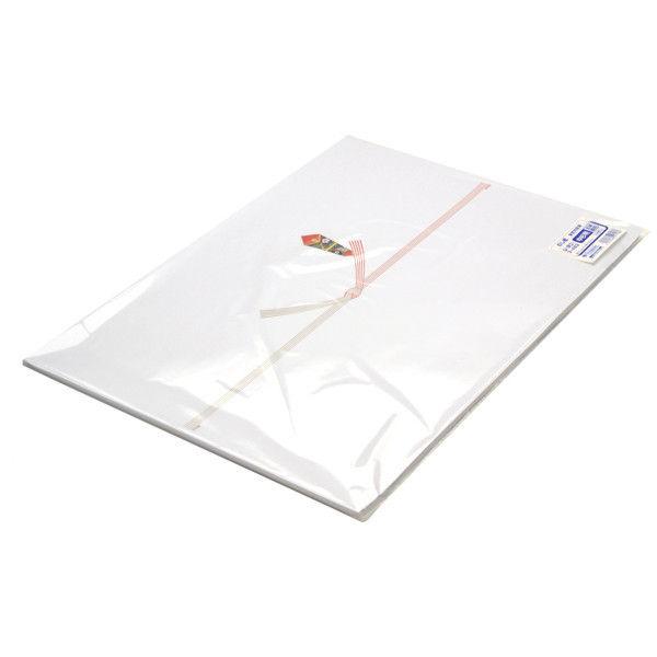 ササガワ のし紙 中杉判 五本結切 山 3-482 500枚(100枚袋入×5冊包) (取寄品)
